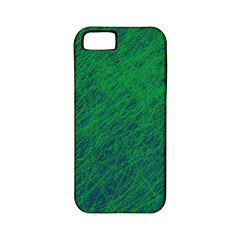 Deep green pattern Apple iPhone 5 Classic Hardshell Case (PC+Silicone)