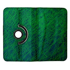 Deep green pattern Samsung Galaxy Note II Flip 360 Case