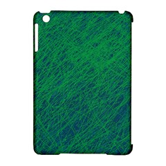 Deep green pattern Apple iPad Mini Hardshell Case (Compatible with Smart Cover)