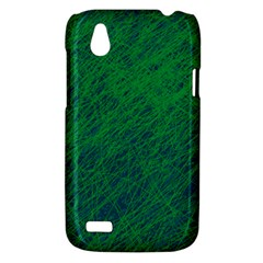 Deep green pattern HTC Desire V (T328W) Hardshell Case
