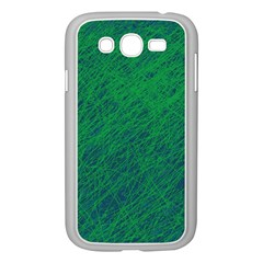 Deep green pattern Samsung Galaxy Grand DUOS I9082 Case (White)
