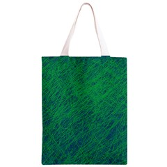 Deep green pattern Classic Light Tote Bag