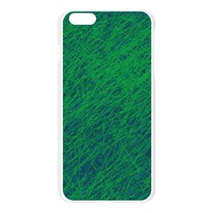 Deep green pattern Apple Seamless iPhone 6 Plus/6S Plus Case (Transparent)