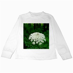 Beetle And Flower Kids Long Sleeve T-Shirts