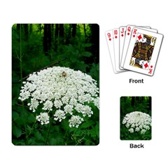 Beetle And Flower Playing Card