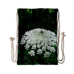 Beetle And Flower Drawstring Bag (Small)