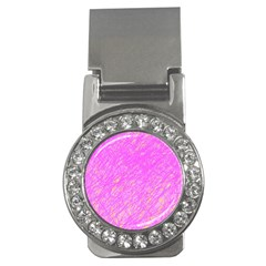 Pink pattern Money Clips (CZ)