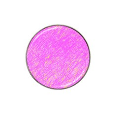 Pink pattern Hat Clip Ball Marker