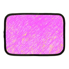 Pink pattern Netbook Case (Medium)