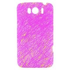 Pink pattern HTC Sensation XL Hardshell Case