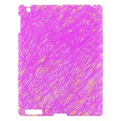 Pink pattern Apple iPad 3/4 Hardshell Case
