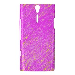 Pink pattern Sony Xperia S