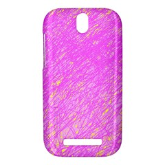 Pink pattern HTC One SV Hardshell Case