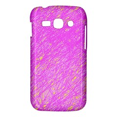 Pink pattern Samsung Galaxy Ace 3 S7272 Hardshell Case