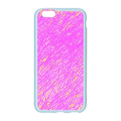 Pink pattern Apple Seamless iPhone 6/6S Case (Color)