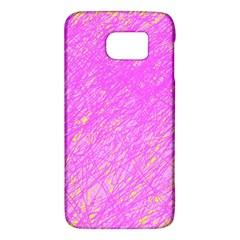 Pink pattern Galaxy S6