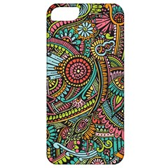 Colorful Hippie Flowers Pattern, zz0103 Apple iPhone 5 Classic Hardshell Case