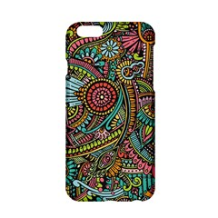 Colorful Hippie Flowers Pattern, Zz0103 Apple Iphone 6/6s Hardshell Case