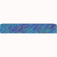 Blue pattern Small Bar Mats