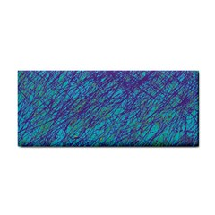 Blue Pattern Hand Towel