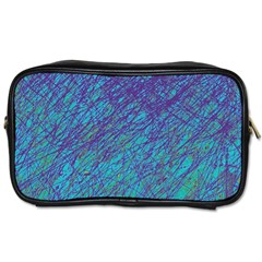 Blue pattern Toiletries Bags