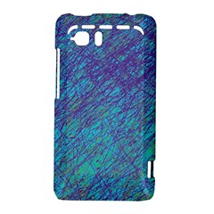 Blue pattern HTC Vivid / Raider 4G Hardshell Case