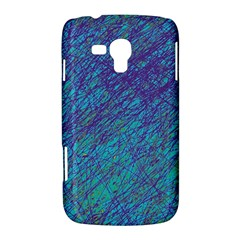Blue pattern Samsung Galaxy Duos I8262 Hardshell Case