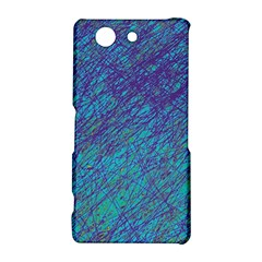 Blue pattern Sony Xperia Z3 Compact