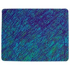 Blue pattern Jigsaw Puzzle Photo Stand (Rectangular)