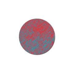 Red and blue pattern Golf Ball Marker (10 pack)