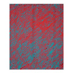 Red and blue pattern Shower Curtain 60  x 72  (Medium)