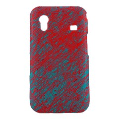 Red and blue pattern Samsung Galaxy Ace S5830 Hardshell Case