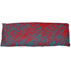 Red and blue pattern Body Pillow Case Dakimakura (Two Sides)