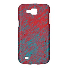 Red and blue pattern Samsung Galaxy Premier I9260 Hardshell Case