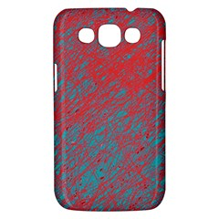 Red and blue pattern Samsung Galaxy Win I8550 Hardshell Case