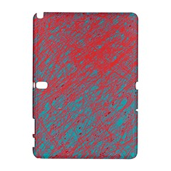 Red and blue pattern Samsung Galaxy Note 10.1 (P600) Hardshell Case