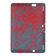 Red and blue pattern Kindle Fire HDX 8.9  Hardshell Case