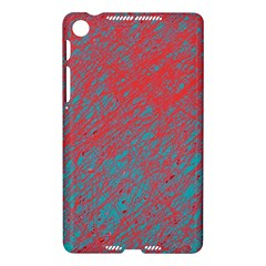 Red and blue pattern Nexus 7 (2013)