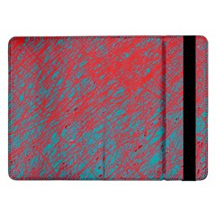 Red and blue pattern Samsung Galaxy Tab Pro 12.2  Flip Case
