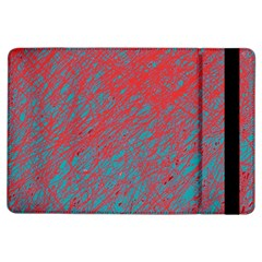 Red and blue pattern iPad Air Flip