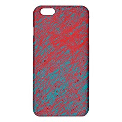 Red and blue pattern iPhone 6 Plus/6S Plus TPU Case