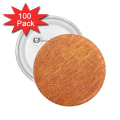 Orange pattern 2.25  Buttons (100 pack)