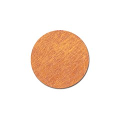 Orange pattern Golf Ball Marker (10 pack)