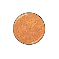 Orange pattern Hat Clip Ball Marker