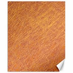 Orange pattern Canvas 16  x 20