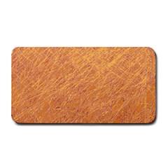 Orange pattern Medium Bar Mats