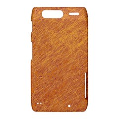 Orange pattern Motorola Droid Razr XT912