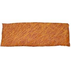 Orange pattern Body Pillow Case Dakimakura (Two Sides)