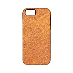 Orange pattern Apple iPhone 5 Classic Hardshell Case (PC+Silicone)