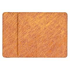 Orange pattern Samsung Galaxy Tab 8.9  P7300 Flip Case